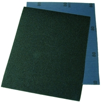 Wet and dry paper abrasive sheet