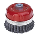 Twisted Knot Wire Cup Brush For Angle Grinders