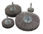 Spindle Mounted Stainless Steel Wire Wheel Brushes