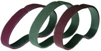 Abrasive belts available in cloth and SCM.