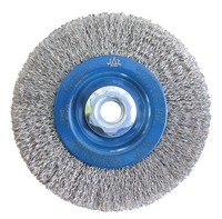 Stainless Steel Crimped Wire Brush Wheel For Angle Grinders